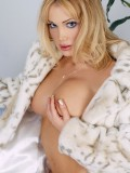 Hot Pornstar Devon Strips Off Fur Coat and Spreads Her Pussy 07