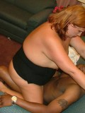 White Amateur Redhead BBW Fucked by Black Cock 13