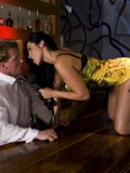 Drunk Busty Cougar Veronica Rayne Fucks Bartender On Top of the Bar 02