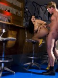 Drunk Busty Cougar Veronica Rayne Fucks Bartender On Top of the Bar 10