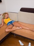 Drunken Blonde Kelly Wells Gets Woken Up By Hard Cock 01