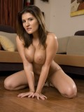 Busty Brunette MILF Austin Kincaid Strips & Shows Why MILFS are Hot 13